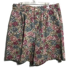 Vintage Gotcha Covered Floral High Waisted Shorts